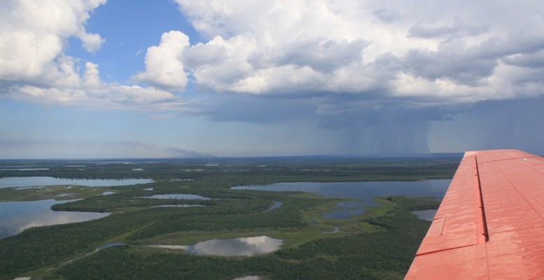 Mackenzie-Delta. Foto: T. Sachs/GFZ