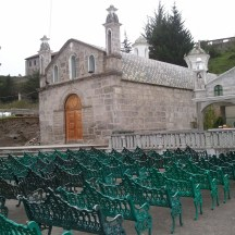 Another Catholic chapel on the way to Quilotoa