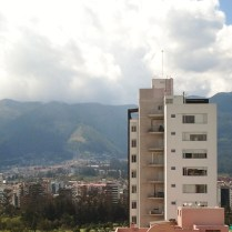 Quito from the IES Center building