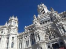 El Ayuntamiento de Madrid (the town hall)