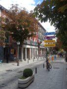 The charming streets of San Lorenzo.