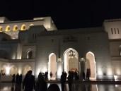 Outside the Opera House