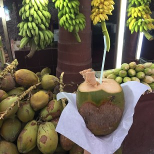 Coconut water in Salalah