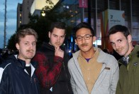 The guys: Clayton, Chris, Minchul, and Michael
