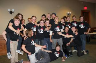 Here are the awesome males of the play...my fellow playboys. Or as we like to say...playMEN.