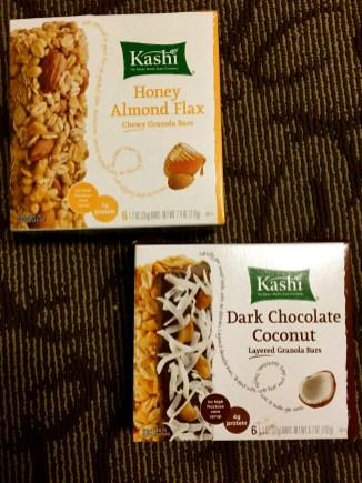 Kashi granola bars