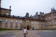The entrance to Holyrood Palace!