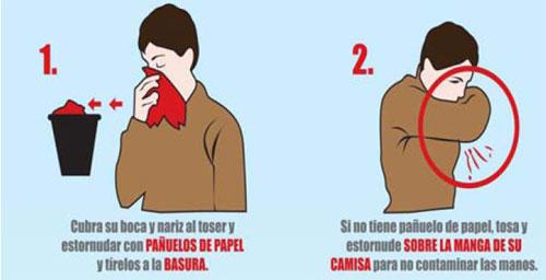 Gripe. Como tratarla y como evitar el contagio