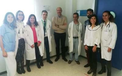 Visita al Hospital de Parla ( Madrid) para aprender el modelo de Unidad de enlace y de atencion a personas de Residencias
