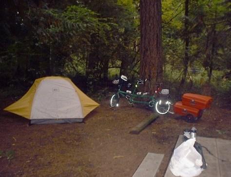 Campsite #2, Millersylvania State Park