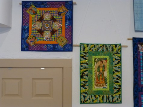 More small quilts from Geoff.