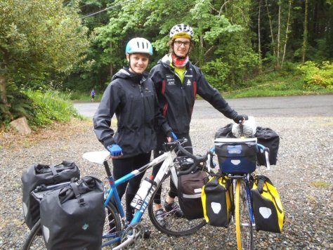 Lena and Nick, from Switzerland, touring Vancouver to Central America