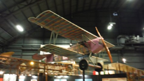 Fokker D-VII, one of my favorite WWI aircraft designs, at the Air Force Museum