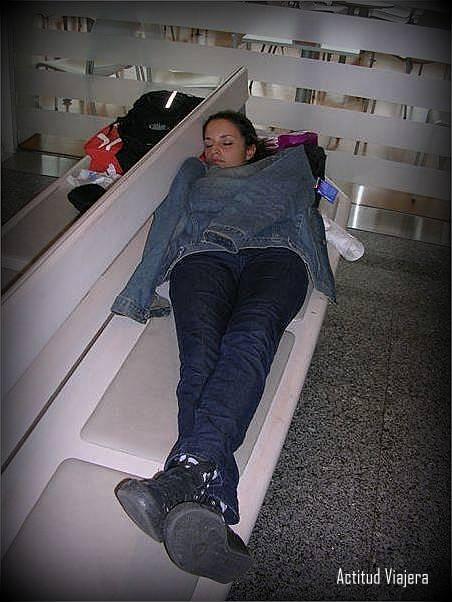 Durmiendo en Bilbao