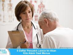 5 Daftar Penyakit Lansia Kronis Paling Umum