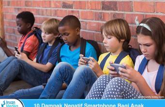 Dampak Negatif Smartphone Bagi Anak