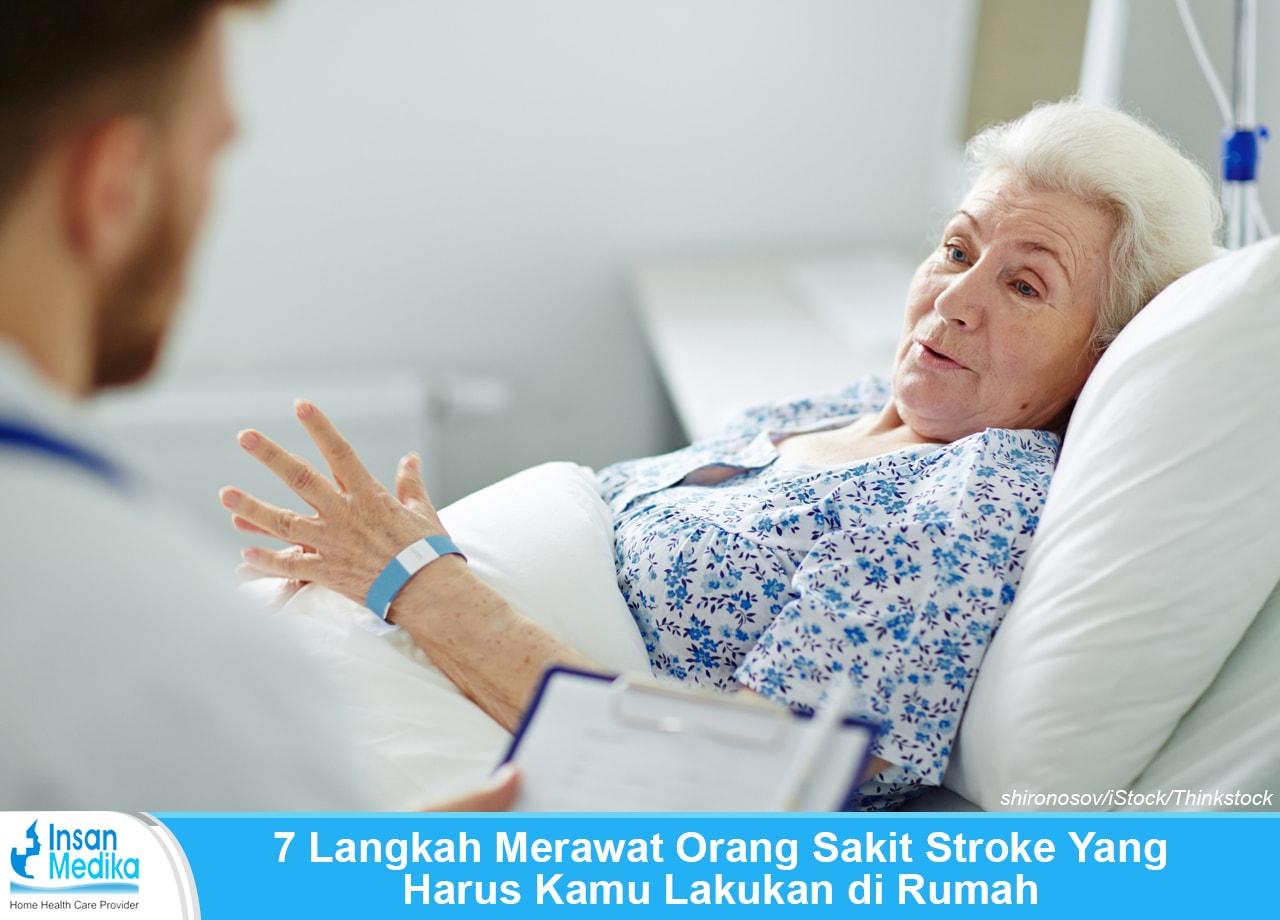 Cara merawat orang sakit stroke di rumah