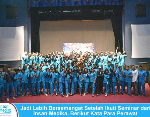 Training motivasi menjadi perawat di atas rata-rata yang diadakan oleh Insan Medika diikuti oleh ratusan perawat home care pada 29 September 2019 di Gor Bulungan Jakarta Selatan