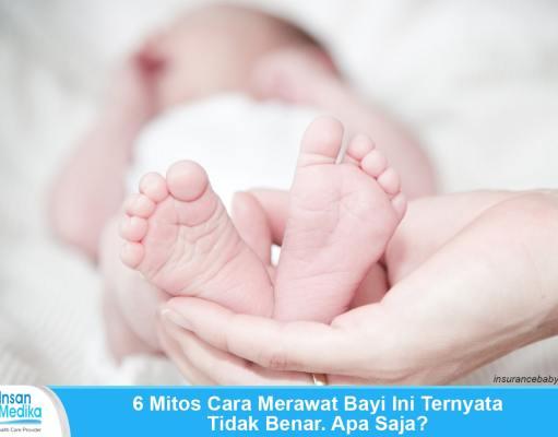 6 Mitos dalam merawat bayi baru lahir