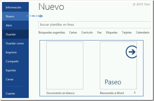 Office 2013 | Plantillas personales de usuario (3/6)