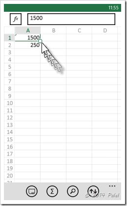 Excel Mobile: Copiar y Pegar celdas - Imagen 3