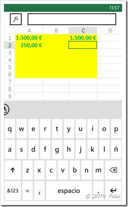 Excel Mobile: Copiar y Pegar celdas - Imagen 7