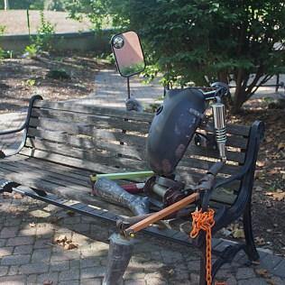 """""""Used Woman,"""" Amy Enochs, 2012. Garden near COM."""