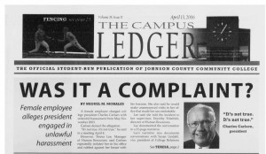 """""""Was it a Complaint?"""" - Original story breaking the news of Dr. Carlsen's alleged harassment. Written by Miguel M. Morales."""