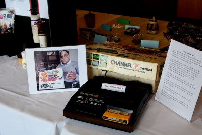 The Channel F System II was created by video game pioneer Jerry Lawson in the 1970's. It was the first cartridge based video game console, which subsequently had influence on future gaming consoles. Photo by Andrew Hartnett
