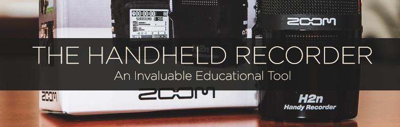 Handheld Recorders