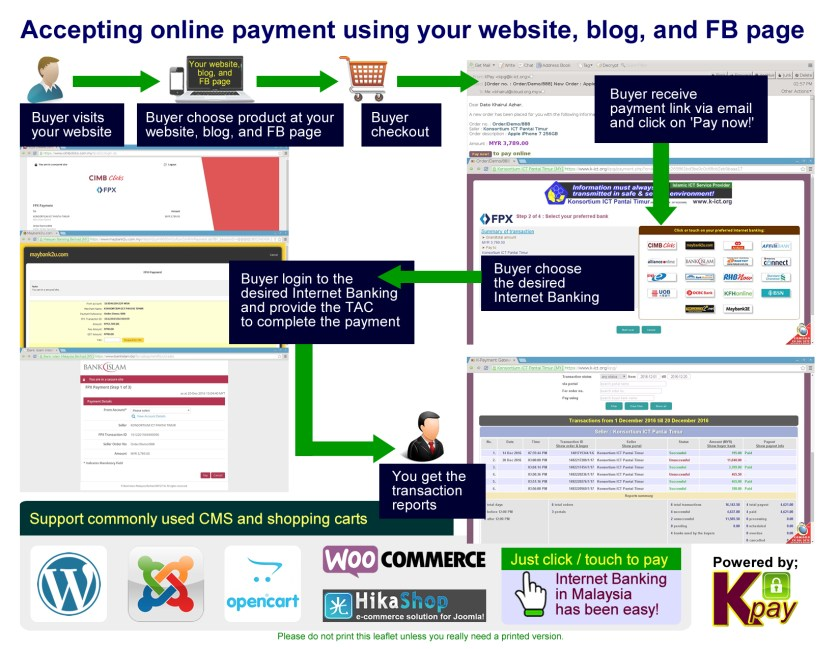 FPX Internet Banking Online Payment