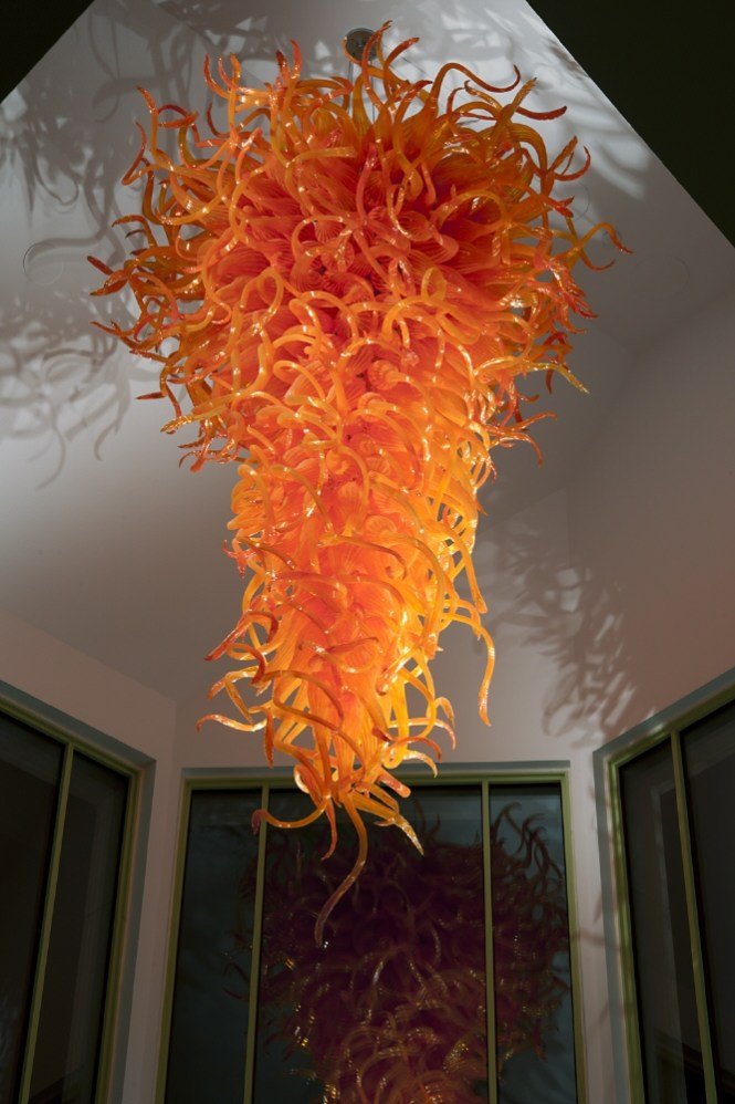 Dale Chihuly United States Born 1941 Chandelier 1996 N Glass Ksu