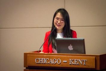 Jun Qiu at APALSA international law panel