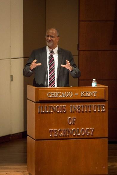 Professor Bartram Brown at APALSA international law panel