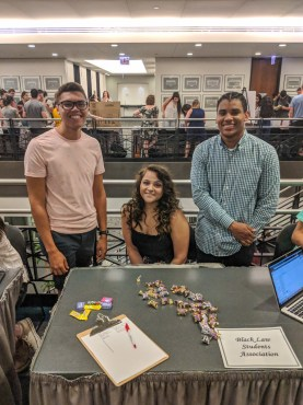 at the 2018 Chicago-Kent Student Organization Fair on September 4, 2018