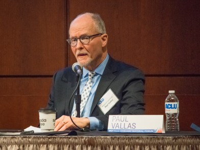 Paul Vallas at ACLU-IL Mayoral Forum