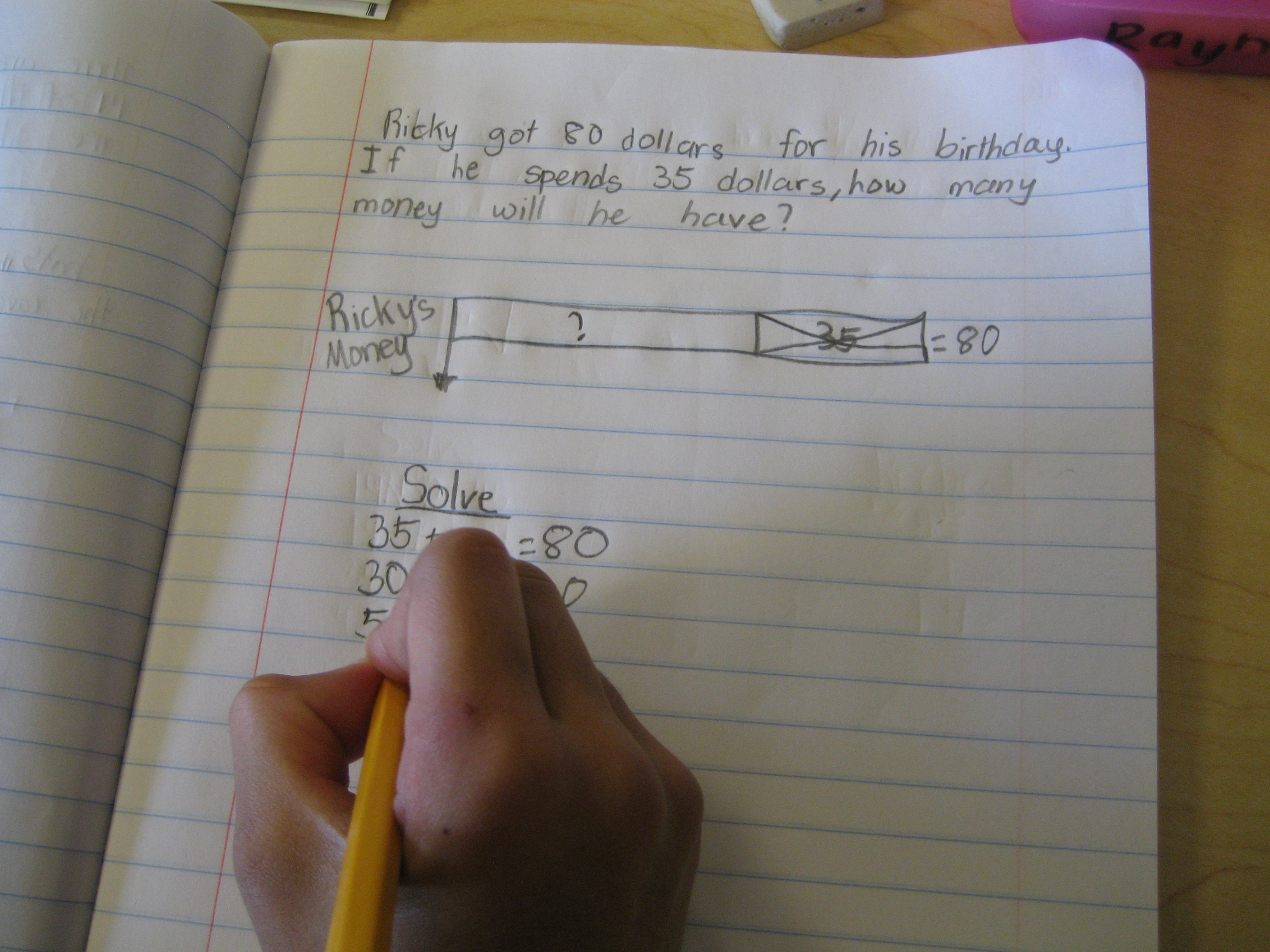 Solving Word Problems With Model Drawing