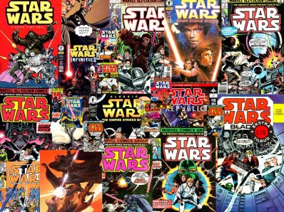 Star-Wars-comics-colección