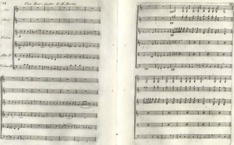 Partition de l'ouverture et les entre-actes des Thermopyles, 1791. M1510. T5 1791