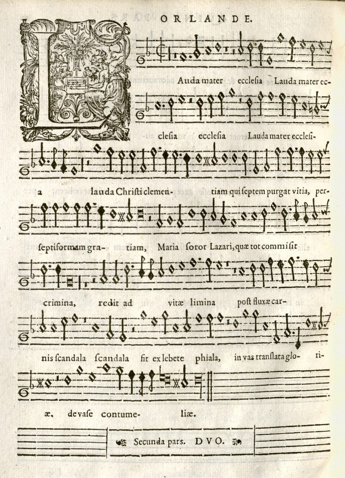 What's New: Di Lasso motet partbooks | Houghton Library Blog