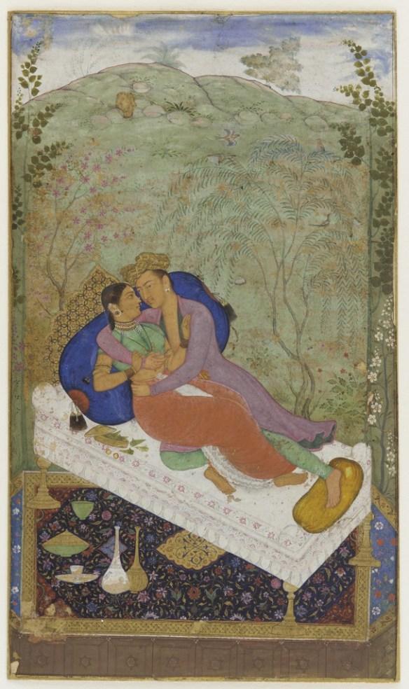Lovers,_Mughal_dynasty