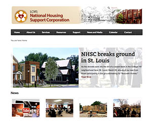 The new website of the LCMS National Housing Support Corporation — at nationalhousingsupport.org — offers information, resources and grants designed to help Lutherans get involved in housing construction and rehabilitation, community gardening, resident leadership development and community outreach.