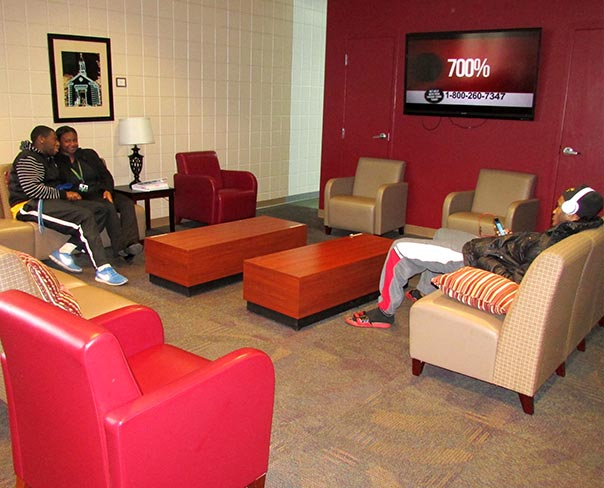 Concordia College Alabama Students Enjoy The Refurbished Lounge In Kreft Campus Center One Result