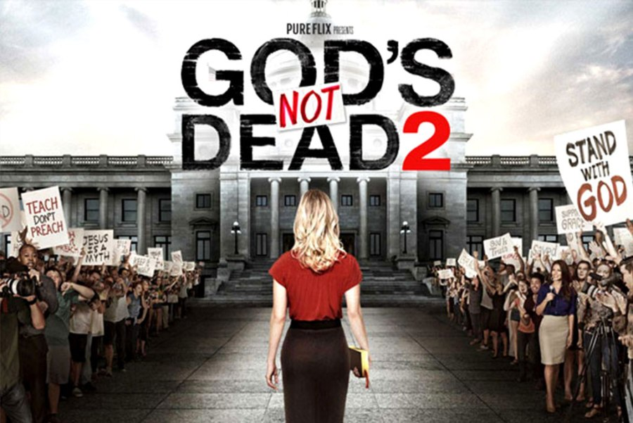 "While ""God's Not Dead 2"" deals with a serious topic — the persecution of Christians within the increasingly volatile arena of public discourse — it is not a serious or particularly good film, writes reviewer Ted Giese."