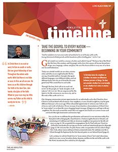 2nd Quarter 2016 Black Ministry TimeLine Newsletter