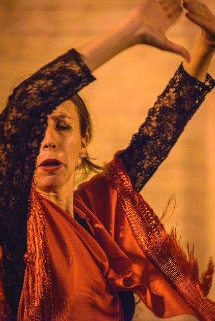 photo essay our stake in spain a flamenco dancer performs for tourists on a street in seville