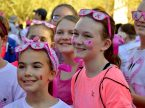 Students at Christ Lutheran School, Phoenix, Ariz., take part in a Cancer Walk to raise funds for one of their teachers diagnosed with breast cancer. Christ Lutheran was recently recognized as a 2017-18 School of Distinction by the National Lutheran Schools Association.