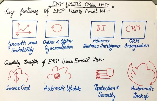ERP Users Email Lists