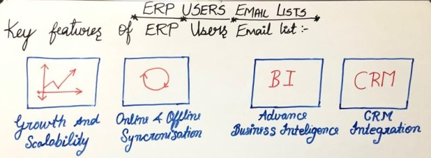 Key Factors Of ERP Users Lists
