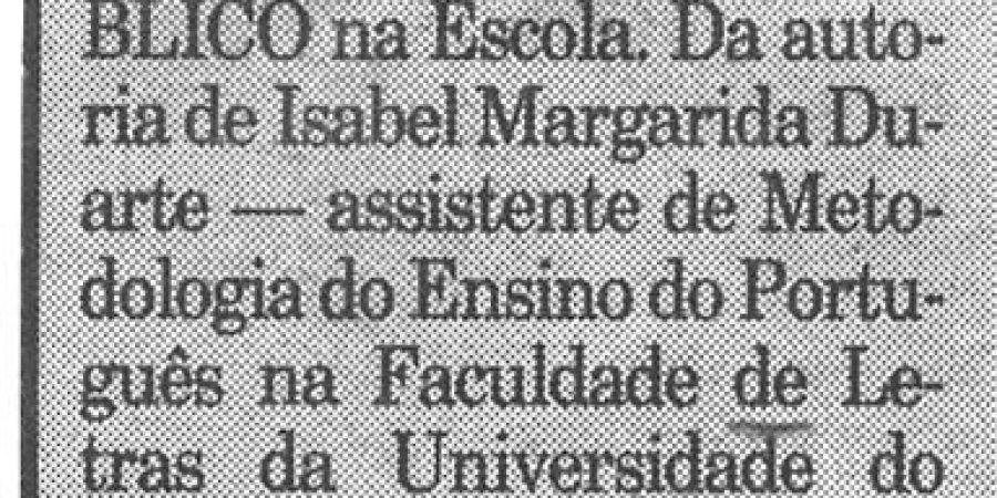 """(311) """"Público na escola"""" - 1996 10 07 Publico ...-40r"""